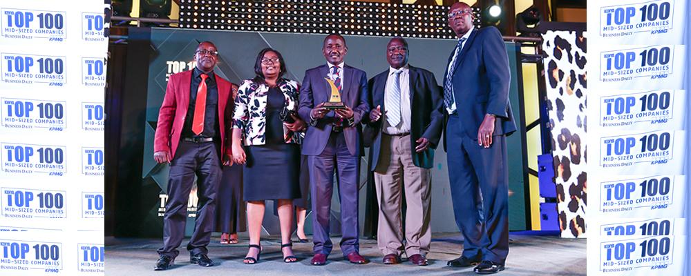 Africert Limited top 100 SMEs