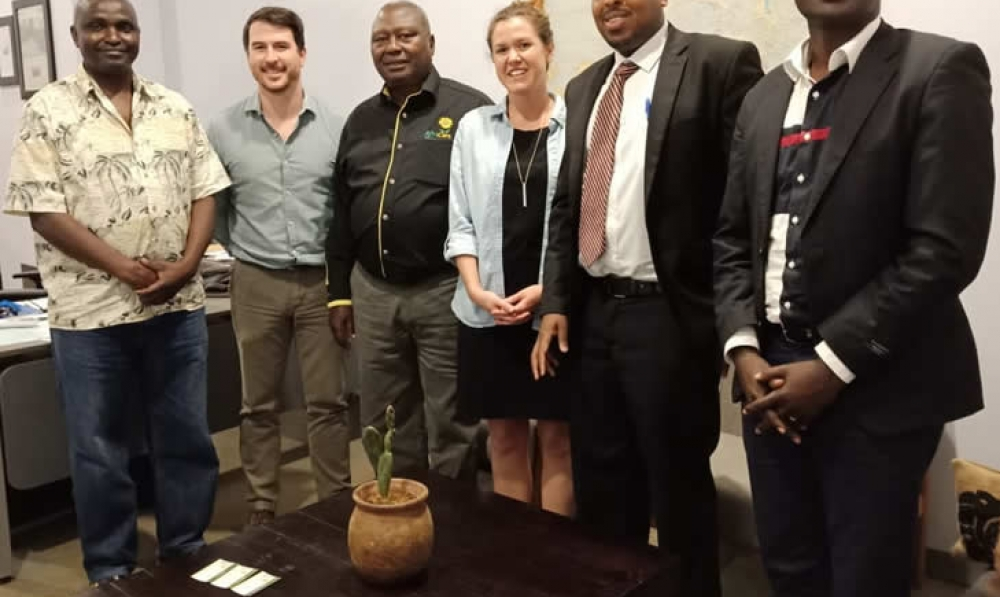 With Rwanda Trading Company MD, Mr. Clay Parker and his team